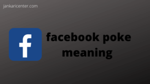 facebook poke meaning in hind