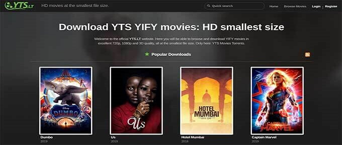 yts free movies download